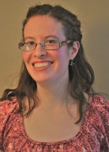 head shot of author