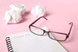 Write the jagged edge - overcome writer's block